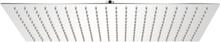 vidaXL Takduschhuvud rostfritt stål 30x50 cm rektangulärt