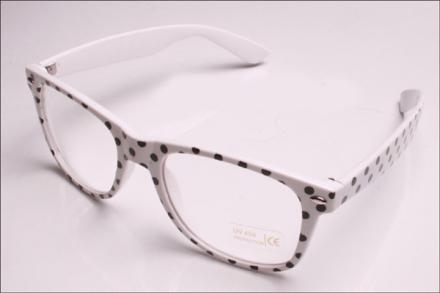 Glasögon rockabilly prickiga