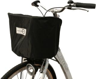 Regnskydd cykelkorg med multifunktion