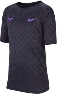 Nike Nike Court Dri-FIT Rafa Tee Boy Anthracite 140