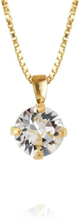 Caroline Svedbom Classic Petite Necklace Gold Crystal