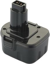 Værktøjsbatteri kompatibel med bl.a. Dewalt batteri DE9075