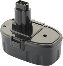 Værktøjsbatteri kompatibel med bl.a. Dewalt batteri DE9096