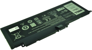 Laptop batteri F7HVR til bl.a. Dell Inspiron 14 & 15 (7537), 17 (7746) - 3800mAh - Original Dell