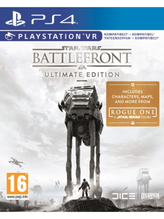 Star Wars: Battlefront - Ultimate Edition - Sony PlayStation 4 - Action - Proshop