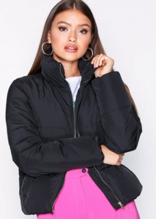 Jacqueline de Yong Jdyerica Short Padded Jacket Otw No Dunjakker Sort