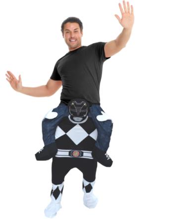 Black Power Ranger Piggyback Kostyme
