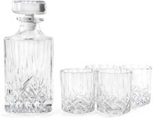 Nordwik Whiskykarahvi ja 4 lasia