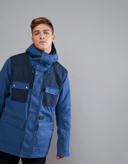 Billabong Working Snow Jacket in Dark Blue - Blue