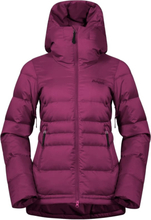 Bergans Stranda Down Hybrid Women's Jacket Dame skijakker fôrede Rød S