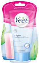 Veet - In Shower Sensitive Hårfjerningscreme - 150 ml
