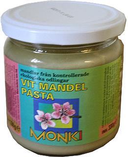 Monki Mandelsmør Hvid Ø (330 gr)