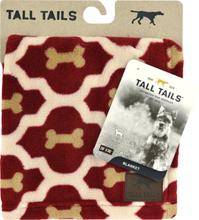 Hundfilt Tall Tails Fleece Ben, Röd