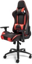 Pista V2 Krzes?o gamingowe - Czarno-czerwony - Skóra PU - 150 kg