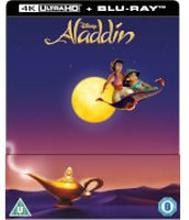 Aladdin 4K Ultra HD - Zavvi Exklusives Lentikuläre Edition SteelBook (Inkl. 2D Blu-ray)