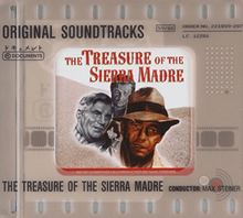 The treasure of the sierra madre -original soundtracks