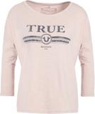 True Religion TRUE LOGO Tshirt långärmad silver gr