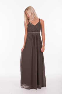 Whitney Maxi Dress Grey