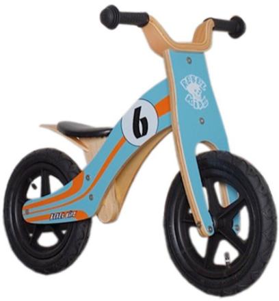 """Rebel Kidz Wood Air Lapset potkupyörä 12"""" Le Mans , oranssi/turkoosi 12"""" 2017 Lasten kulkuneuvot"""