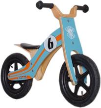 """Rebel Kidz Wood Air potkupyörä 12"""" , sininen 12"""" 2019 Lasten kulkuneuvot"""
