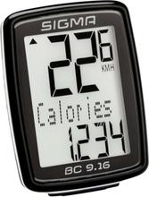 SIGMA SPORT BC 9.16 Bike Computer Med kabel 2021 Cykeldatorer med sladd