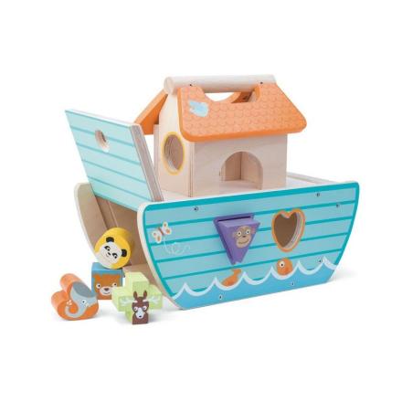 Le Toy Van Noahs Ark puttekasse, tyrkis - LykkeLeg