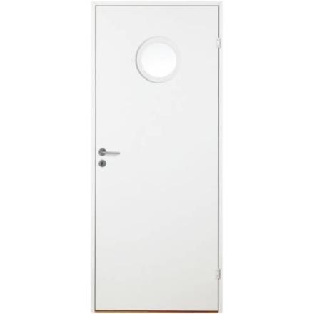 Innerdörr Slät Runt Glas (Modul 9x21 (825x2040mm), Frostat)