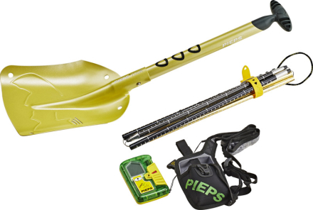Pieps Sport S Lavinesæt gul/farverig 2019 LVS-apparater