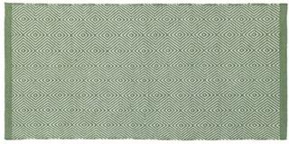 Strehög Lindås Grön Matta 160x230 cm