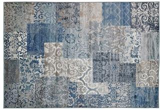 Strehög Granada Blå Matta 200x290 cm