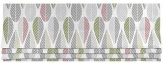 Arvidssons Textil Blader Grön/Grå Hissgardin