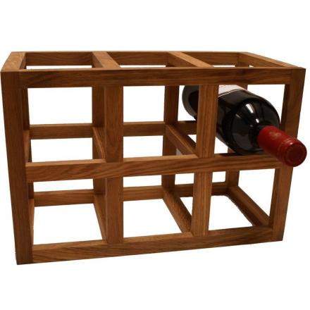 Vinställ ek 6 flaskor