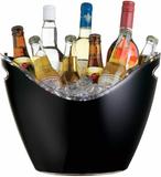 Bar Craft Öl och Vinkylare svart acryl