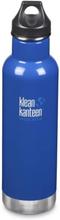 Klean Kanteen Classic Insulated Loop Cap 591ml - Coastal Waters