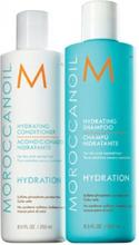 Moroccanoil Hydration Duo Shampoo 250ml + Conditioner 250ml