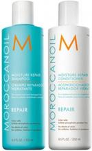 Moroccanoil Moisture Repair Duo Shampoo 250ml + Conditioner 250ml