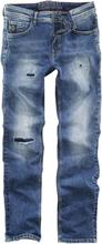 Shine Original - Walker Blue Dust - Slim Fit -Jeans - blå