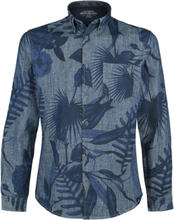 Shine Original - Elliot -Langermet skjorte - blå