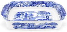 Spode Blue Italian Gratengform 30 x 38 cm