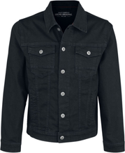 Shine Original - Clean Black Denim Jacket -Dongerijakke - svart