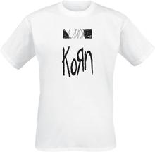 Korn - The Nothing - Tracklist -T-skjorte - hvit