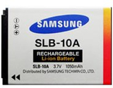 Samsung SLB-10A - Kamerabatteri Li-Ion 1050 mAh -