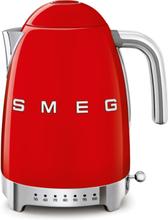 Smeg Vattenkokare 1,7 l med Variable Temperatur Röd