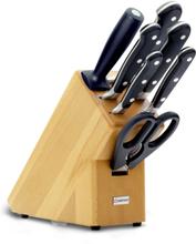 Wüsthof Classic Knivblock med 7 Knivar Bokträ