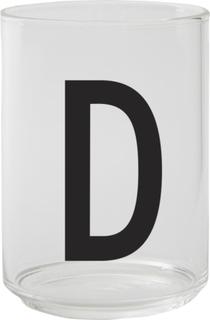 Design Letters Dricksglas, D