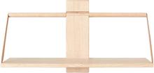 Andersen Furniture Wood wall Shelf 60 x 25 x 32 cm Large Oak
