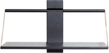 Andersen Furniture Wood wall Shelf 60 x 25 x 32 cm Large Black