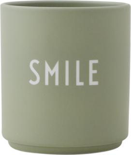 Design Letters Favorittkopp, Smile