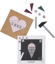 Design Letters Hammer Artist Lekesett, Glass