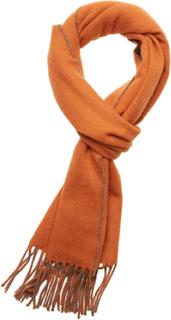 Morris Double Face Scarf Tørklæde Orange Morris
